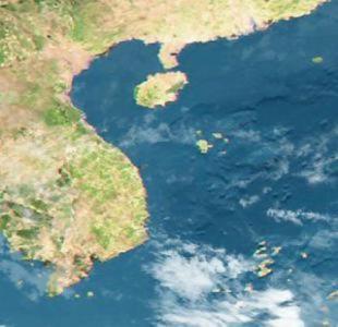 Áp thấp tan trên biển