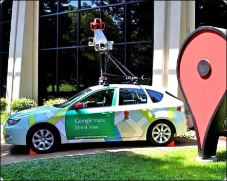 Bí mật tạo nên những hình ảnh trên Google Street View