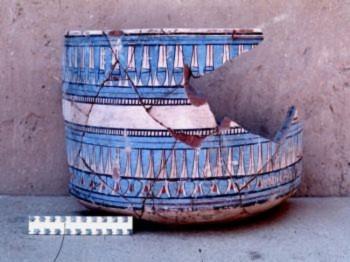 Các nhà khoa học khám phá ra bí ẩn 'màu xanh' của Ai Cập cổ đại