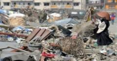 Cảnh chết chóc ở gần nhà máy điện hạt nhân Nhật