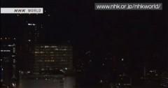 Clip nhà chọc trời ở Tokyo rung chuyển vì động đất