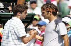 Federer vào bán kết chỉ sau 10 phút