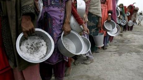 Giá lương thực leo thang: 44 triệu người nghèo đói
