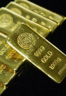 Giá vàng quốc tế tăng nhẹ sáng đầu tuần. Ảnh: