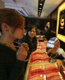 Giá vàng tăng sát 37,4 triệu đồng sáng nay. Ảnh: news.cn