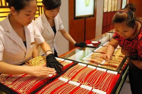 Thị trường vàng xuống sát 37 triệu đồng