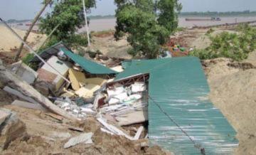 Hà Nội dừng xây khu tái định cư ngoài đê sông Hồng