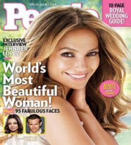 Jennifer Lopez là người đẹp nhất thế giới 2011