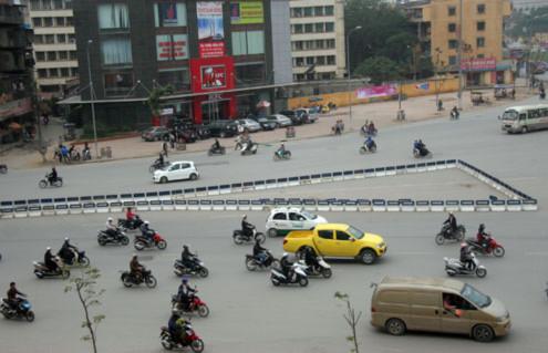 Đầu đường Nguyễn Trãi về phía