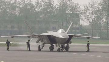 Máy bay tàng hình của Trung Quốc tái xuất