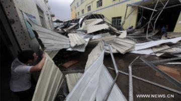 Mưa đá khiến 12 người chết tại Trung Quốc