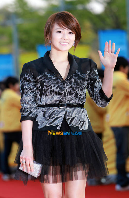Nữ cảnh sát tuần tra Ryu Hyun Kyung.