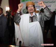 Mỹ ráo riết tìm nước tị nạn cho ông Gadhafi