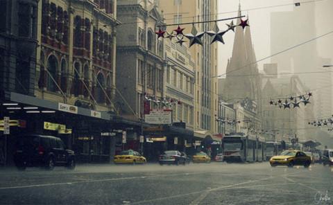 Và còn nhiều, còn nhiều nữa, nhưng có lẽ tôi dừng lại ở đây, để ngày mai, tôi và bạn lại có thể tìm thấy những điều thú vị khác, từ những ngày mưa Melbourne…