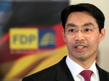 Tân chủ tịch FDP Philipp Roesler. Ảnh: DPA