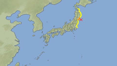 Nhật động đất mạnh, lò hạt nhân nguy hiểm