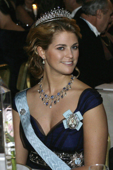 Đứng thứ 7 là công chúa Madeline của Thụy Điển.