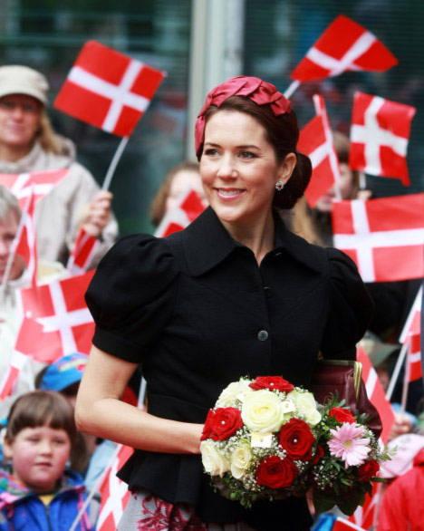 Công nương Mary tại Đan Mạch đứng thứ 8.