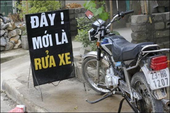 Những hình ảnh kỳ cục trên khắp Việt Nam