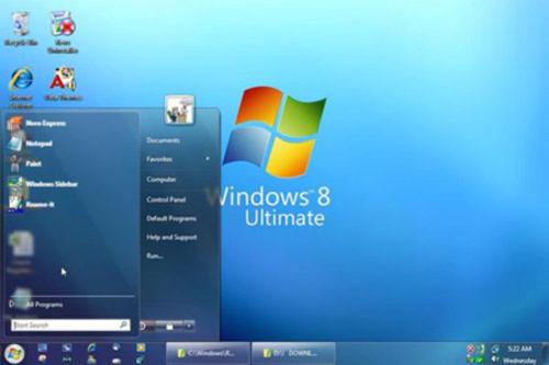 Những thông tin đầu tiên về hệ điều hành Windows 8