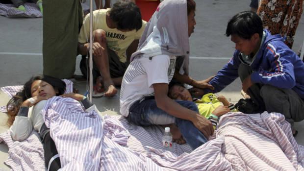 Những nạn nhân trong vụ động đất mạnh 5,8 độ Richter cách đây 1 tháng tại khu vực Tây Nam Trung Quốc