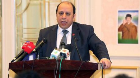Phó Ngoại trưởng Libya Khaled Kaaim. Ảnh: Theaustralia