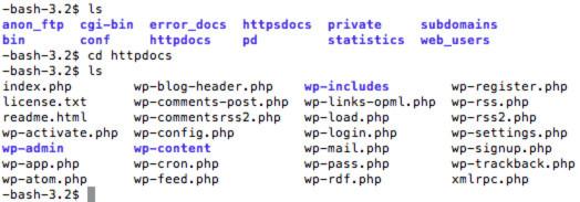 Sao lưu toàn bộ website bằng SSH Command Line