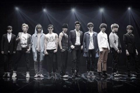 Nhóm nhạc Super Junior.