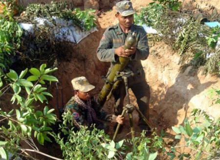Các binh sĩ Campuchia