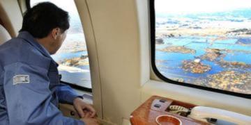 Thủ tướng Nhật thị sát vùng nhiễm xạ