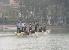 Tìm cụ Rùa thứ 2 tại hồ Gươm