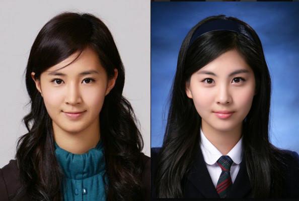 """Yuri và Seohyun (SNSD) """"lộ"""" ảnh thẻ xinh như mộng"""