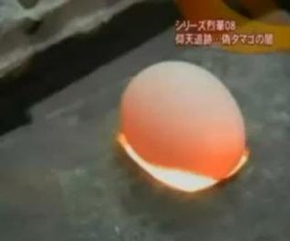 Làm trứng gà giả tại Trung Quốc