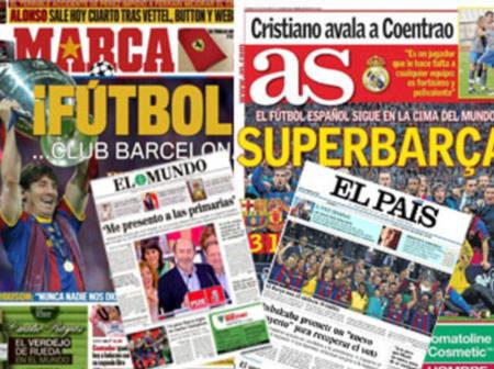 Báo giới TBN nhất mực ngợi ca CLB con cưng Barcelona