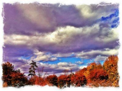 """Bầu trời đẹp mắt dưới """"ống kính"""" của iPhone"""