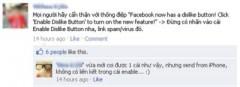 """Cẩn thận sập bẫy """"Dislike"""" trên Facebook"""
