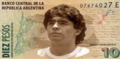 CĐV Argentina muốn in hình Maradona lên tiền giấy