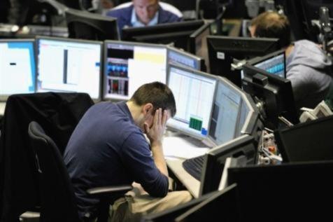 Chứng khoán Mỹ vừa có phiên giảm thứ tư liên tiếp. Ảnh: AFP