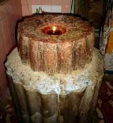 Chuyện ly kỳ quanh cây nến cháy 640 năm