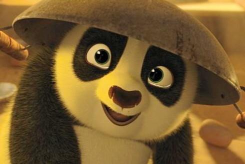 Tạo hình gấu Po hồi bé xíu. Ảnh: DreamWorks.