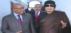 Gadhafi bàn về ngừng bắn