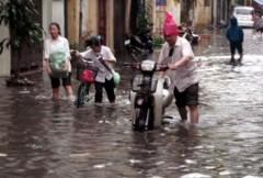 Hà Nội ngập hàng trăm điểm nếu mưa lớn