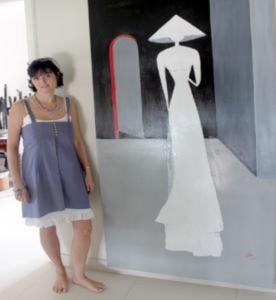 Họa sĩ Pháp gửi tình yêu Việt Nam vào tranh vẽ