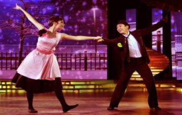 Hứa Vĩ Văn bị loại khỏi 'Bước nhảy Hoàn vũ'