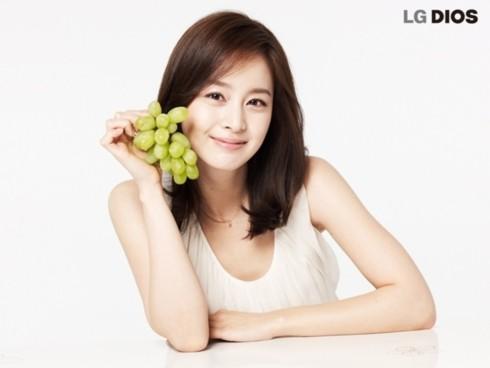 Đây là bộ ảnh quảng cáo cho sản phẩm tủ lạnh thông minh Dios của hãng LG.