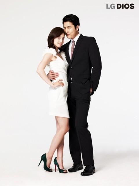 Cả Jung Woo Sung và Kim Tae Hee đều là người phát ngôn lâu năm của hãng này, cả hai đã quay nhiều quảng cáo trong các chiến dịch trước.