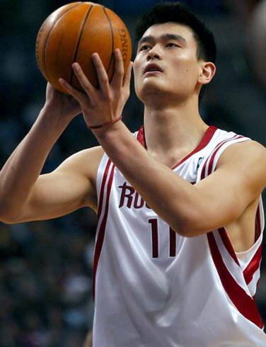 Ngôi sao bóng rổ Diêu Minh kiếm tiền giỏi nhất trong làng sao gốc Hoa năm qua. Ảnh: