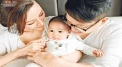Lý Gia Hân mừng con trai 100 ngày tuổi