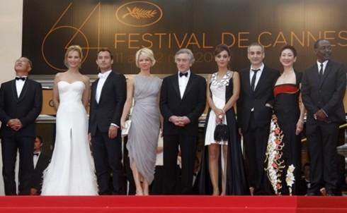 Các giám khảo của LHP Cannes năm nay.