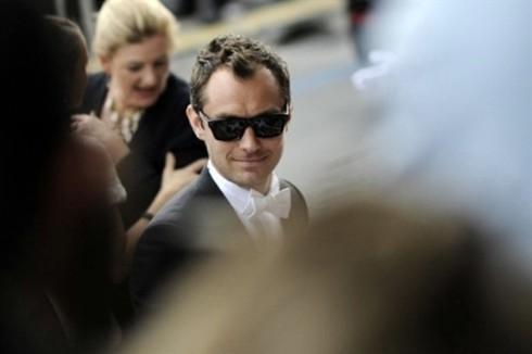 Tài tử người Anh Jude Law, một trong các thành viên của ban giám khảo Cannes năm nay.